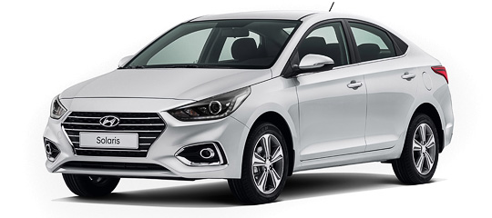 прокат Hyundai Solaris AT 2017